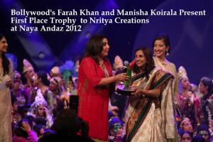2012 Naya Andaz Winning Dances - Judged by Farah Khan
